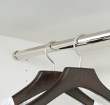 Coat Rail - 1 and 2 Door Lockers only 450mm Deep